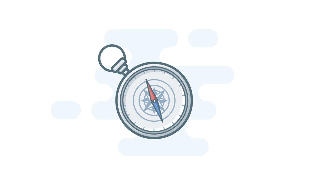 compass, trip, travel