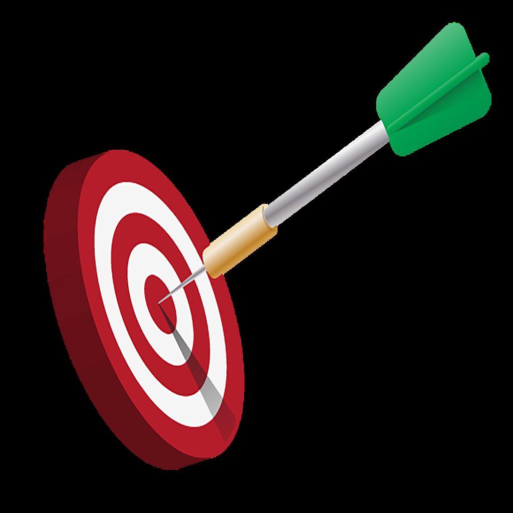 target, dart, aim