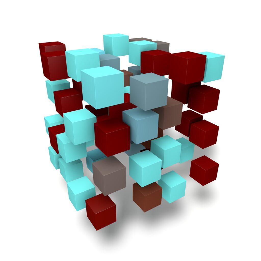 matrix, network, data exchange