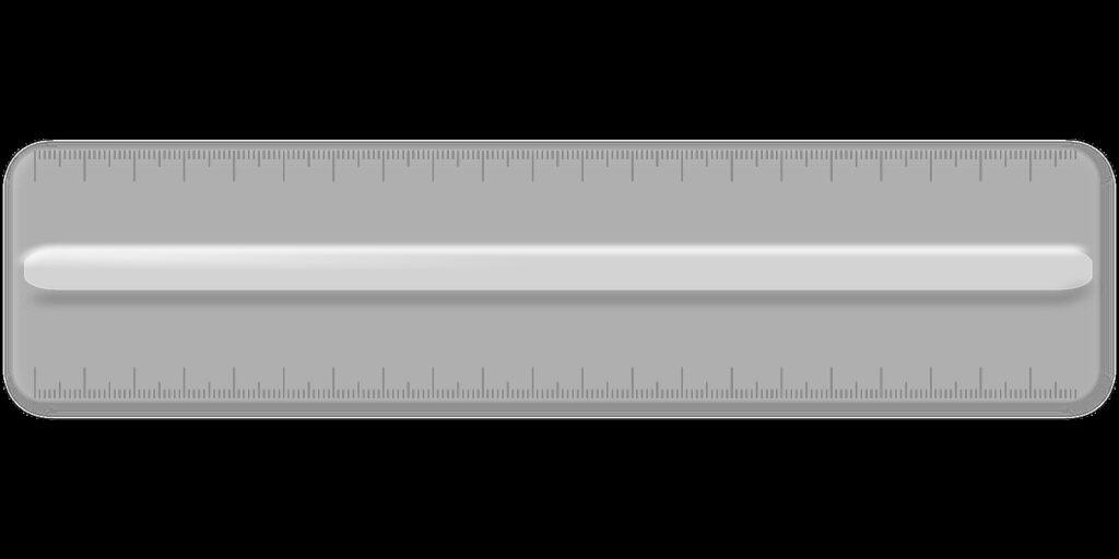 ruler, plastic, office